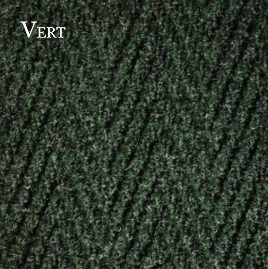 Tapis-Chevron-Vert