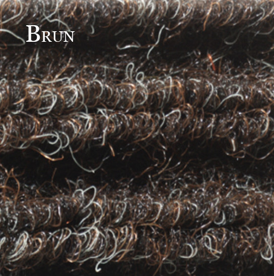 Tapis-Needle-Rib-Brun